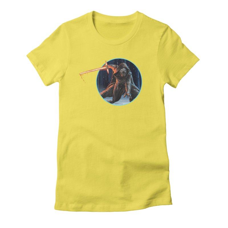 Kylo Ren Women's T-Shirt by bobtheTEEartist's Artist Shop