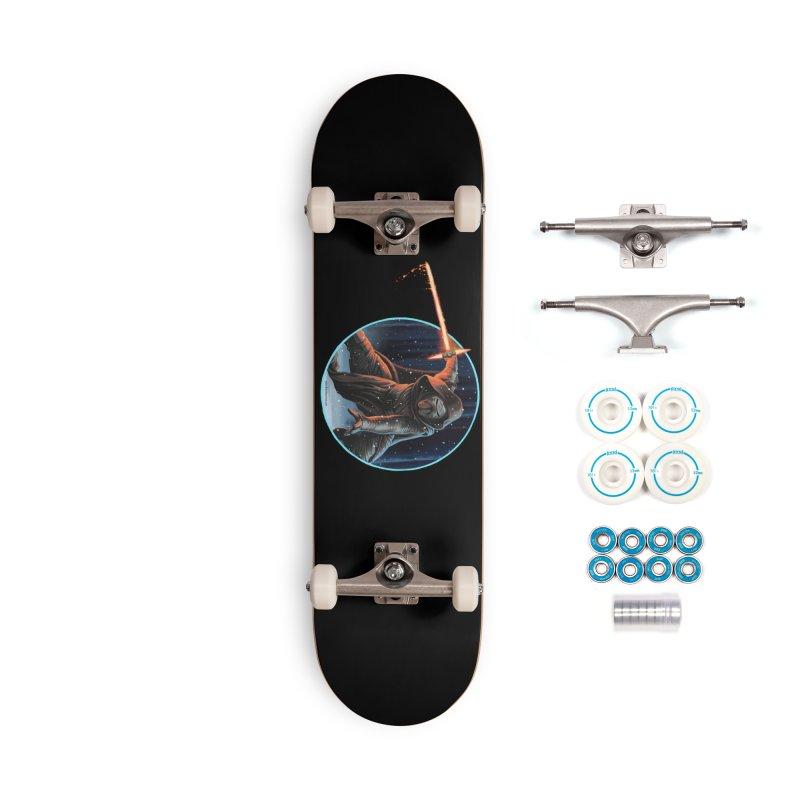 Kylo Ren Accessories Skateboard by bobtheTEEartist's Artist Shop