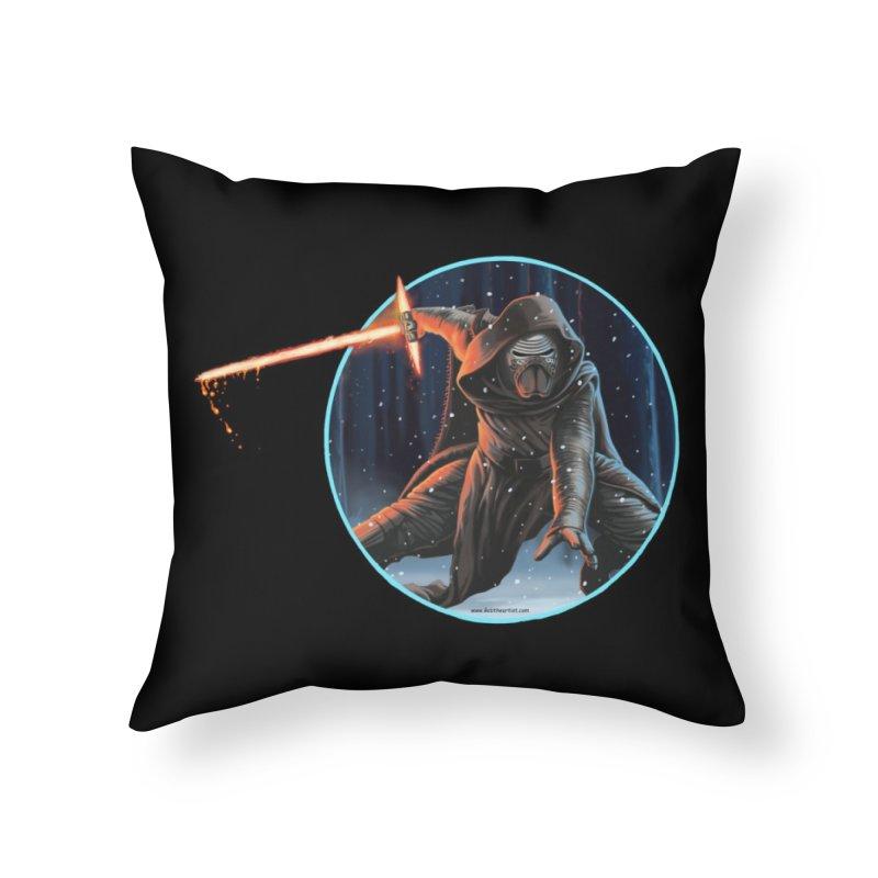 Kylo Ren Home Throw Pillow by bobtheTEEartist's Artist Shop