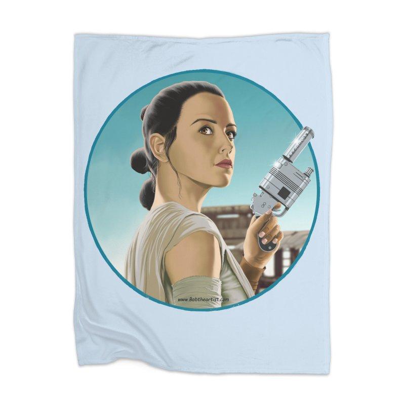 Rey Home Blanket by bobtheTEEartist's Artist Shop