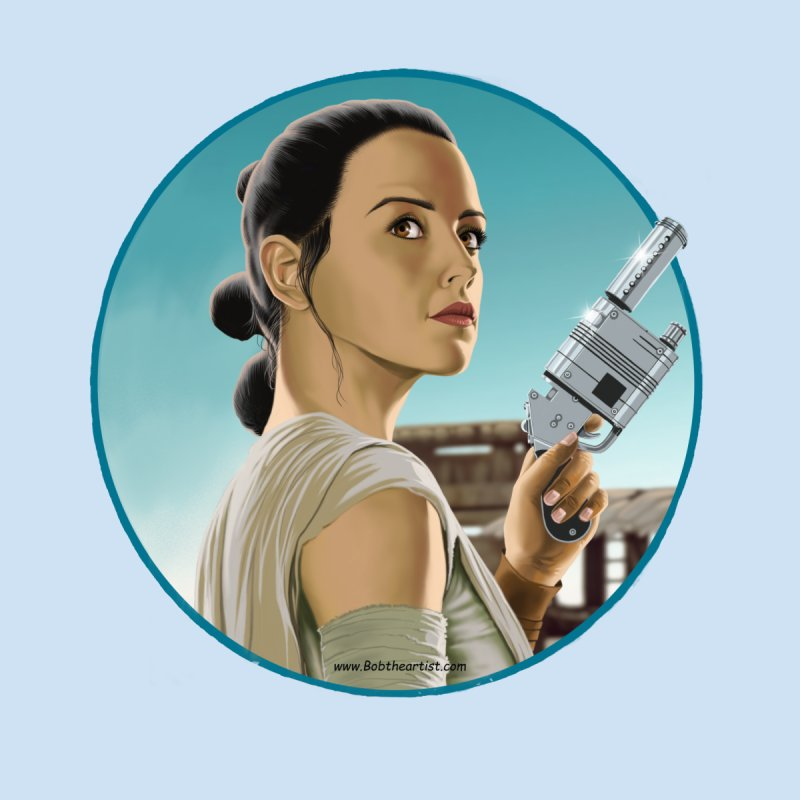 Rey Accessories Magnet by bobtheTEEartist's Artist Shop