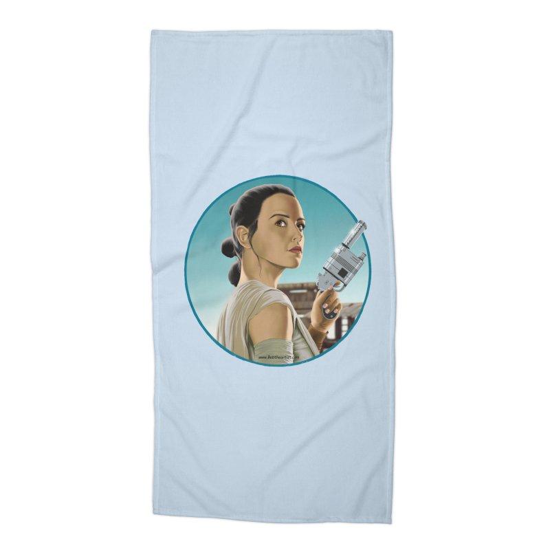 Rey Accessories Beach Towel by bobtheTEEartist's Artist Shop