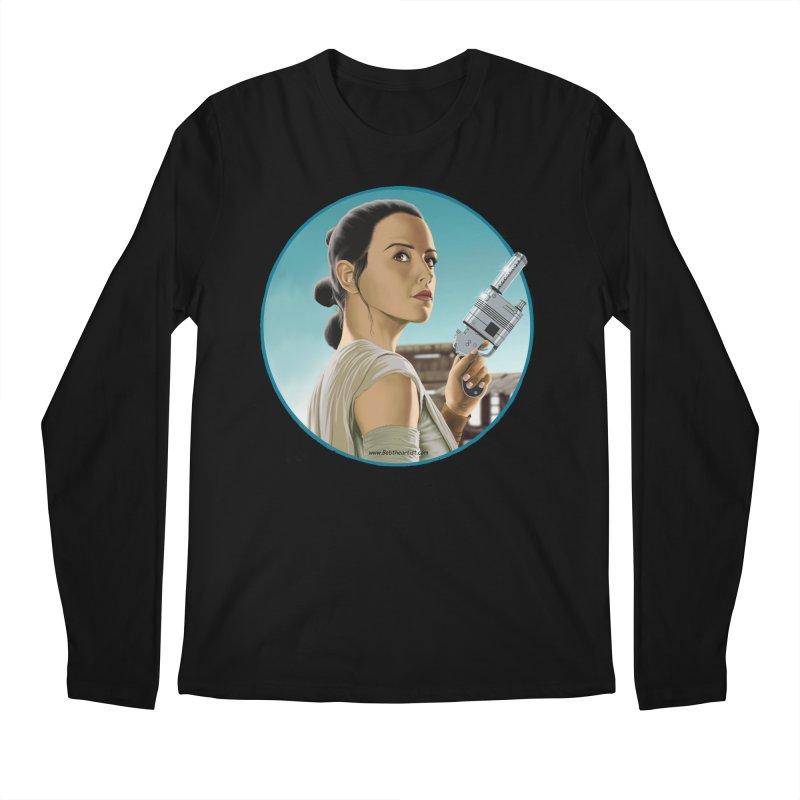 Rey Men's Longsleeve T-Shirt by bobtheTEEartist's Artist Shop