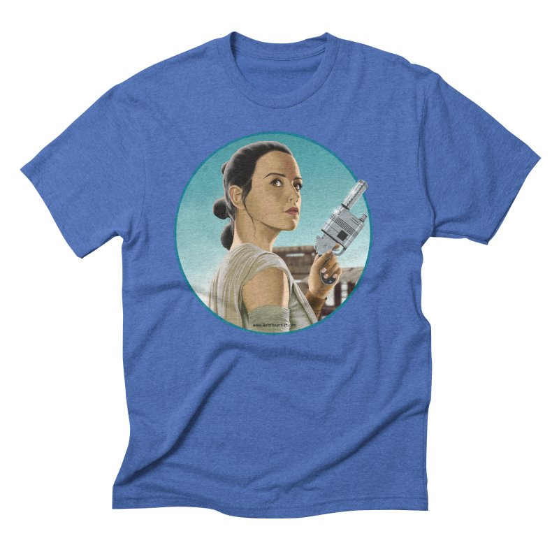 Rey Men's T-Shirt by bobtheTEEartist's Artist Shop
