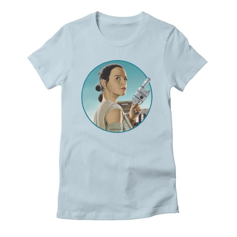 Rey Women's T-Shirt by bobtheTEEartist's Artist Shop