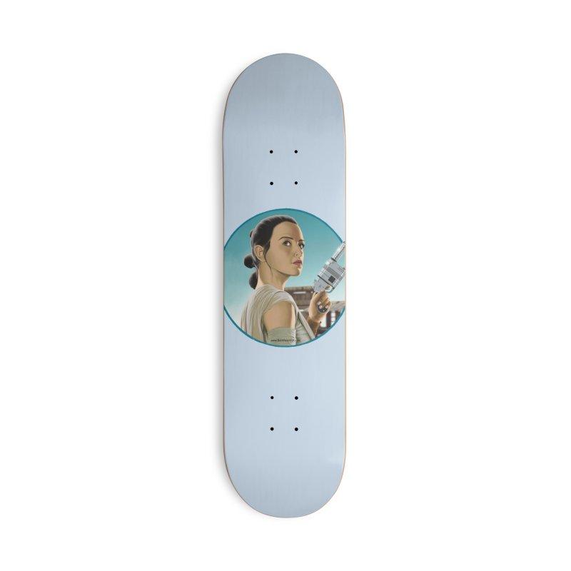 Rey Accessories Skateboard by bobtheTEEartist's Artist Shop