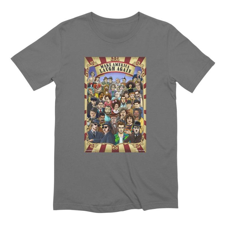 Make America Laugh Again (version 1) Men's T-Shirt by bobtheTEEartist's Artist Shop