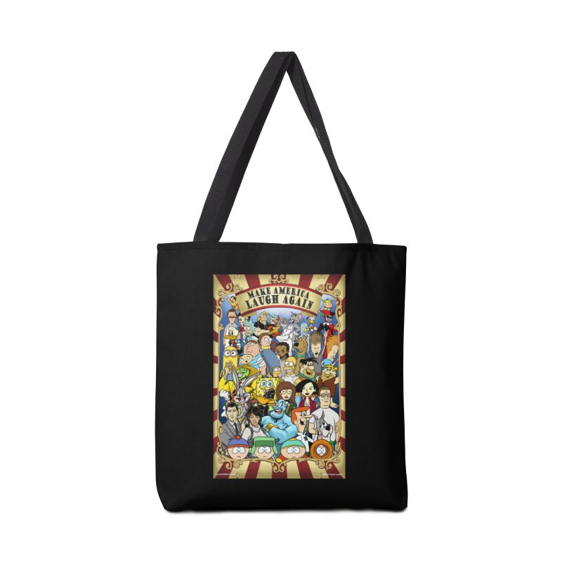 Make America Laugh Again (version 2) Accessories Bag by bobtheTEEartist's Artist Shop