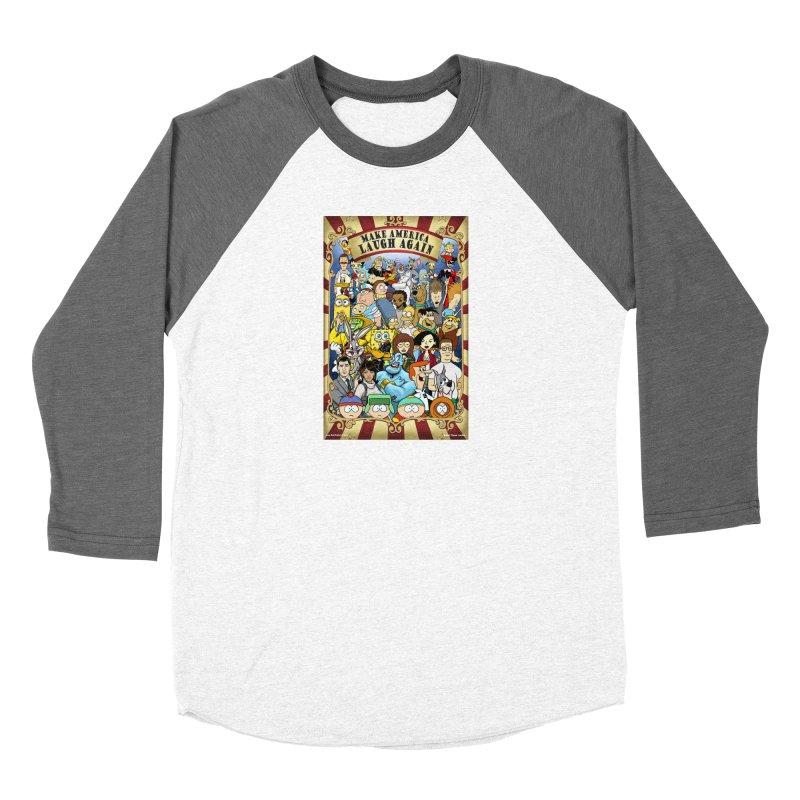 Make America Laugh Again (version 2) Women's Longsleeve T-Shirt by bobtheTEEartist's Artist Shop