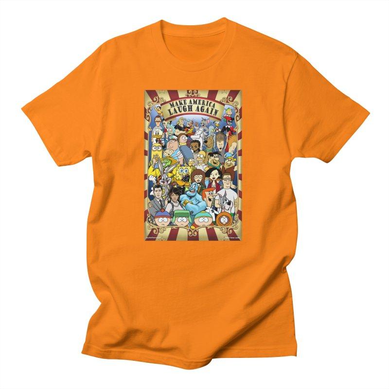 Make America Laugh Again (version 2) Men's T-Shirt by bobtheTEEartist's Artist Shop