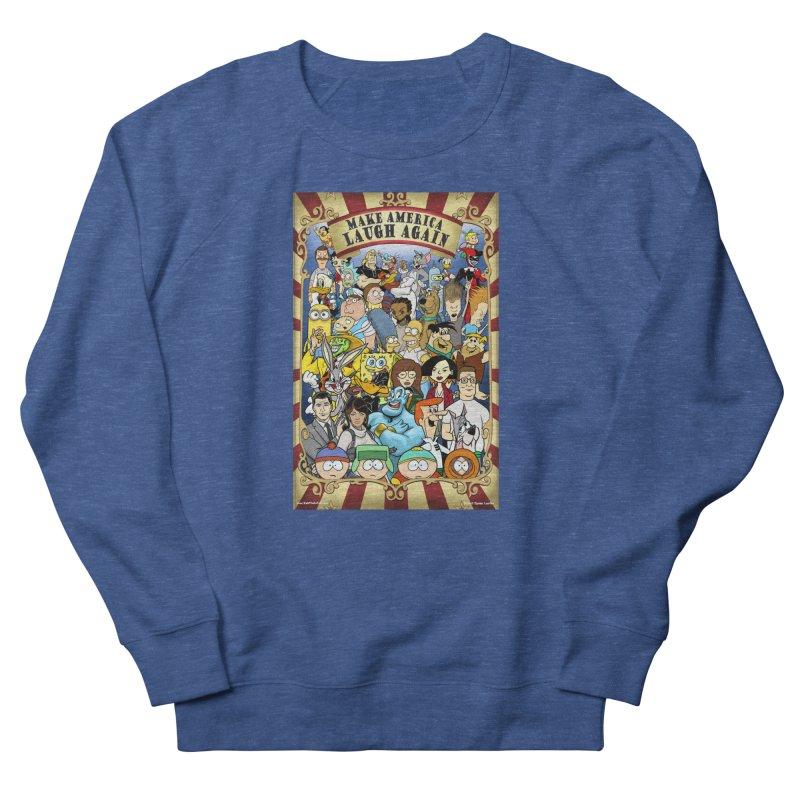 Make America Laugh Again (version 2) Men's Sweatshirt by bobtheTEEartist's Artist Shop