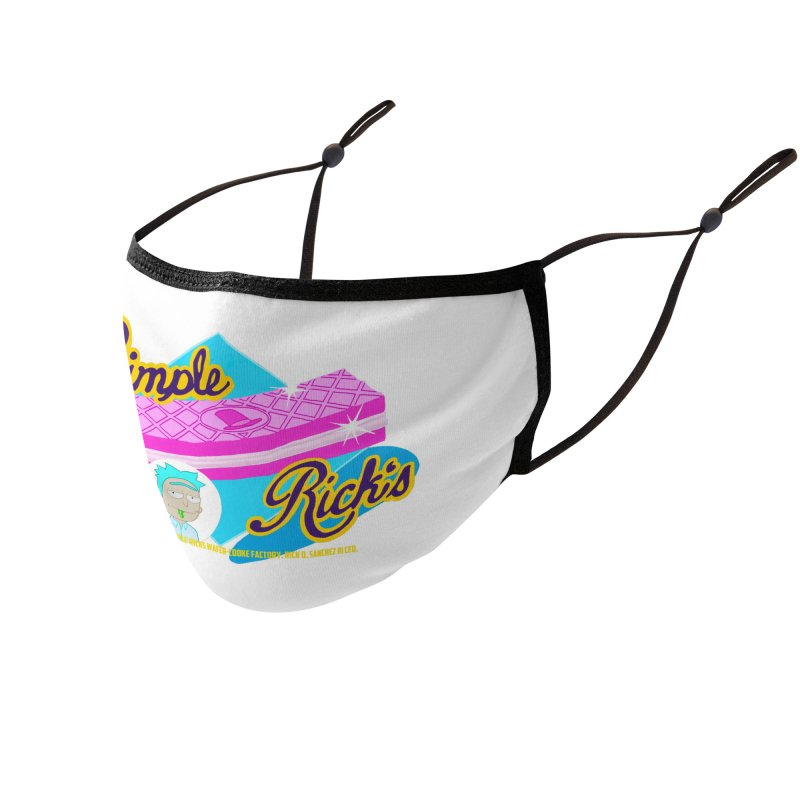 Simple Rick's Waffers Accessories Face Mask by bobtheTEEartist's Artist Shop