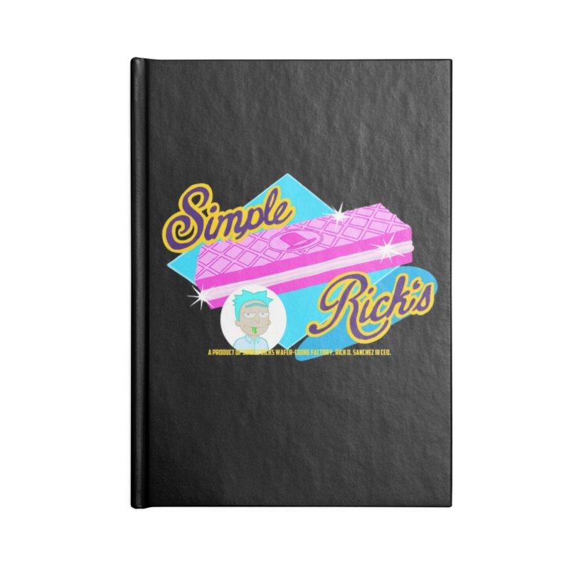 Simple Rick's Waffers Accessories Notebook by bobtheTEEartist's Artist Shop