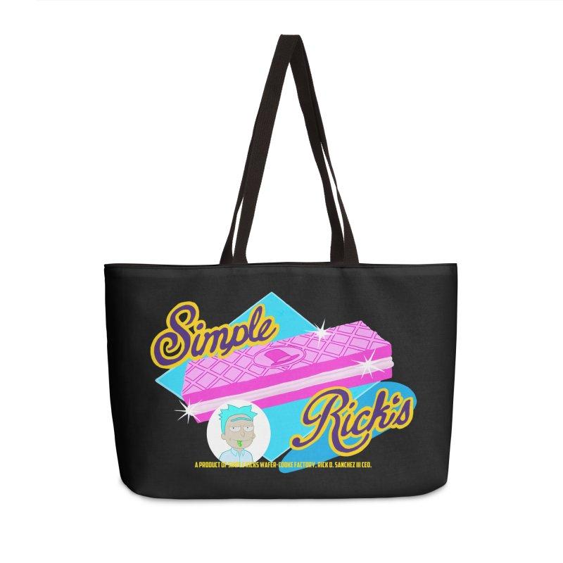 Simple Rick's Waffers Accessories Bag by bobtheTEEartist's Artist Shop