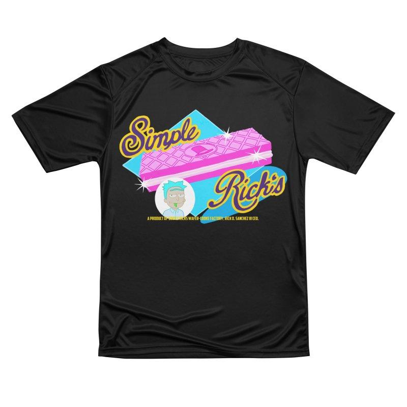 Simple Rick's Waffers Men's T-Shirt by bobtheTEEartist's Artist Shop
