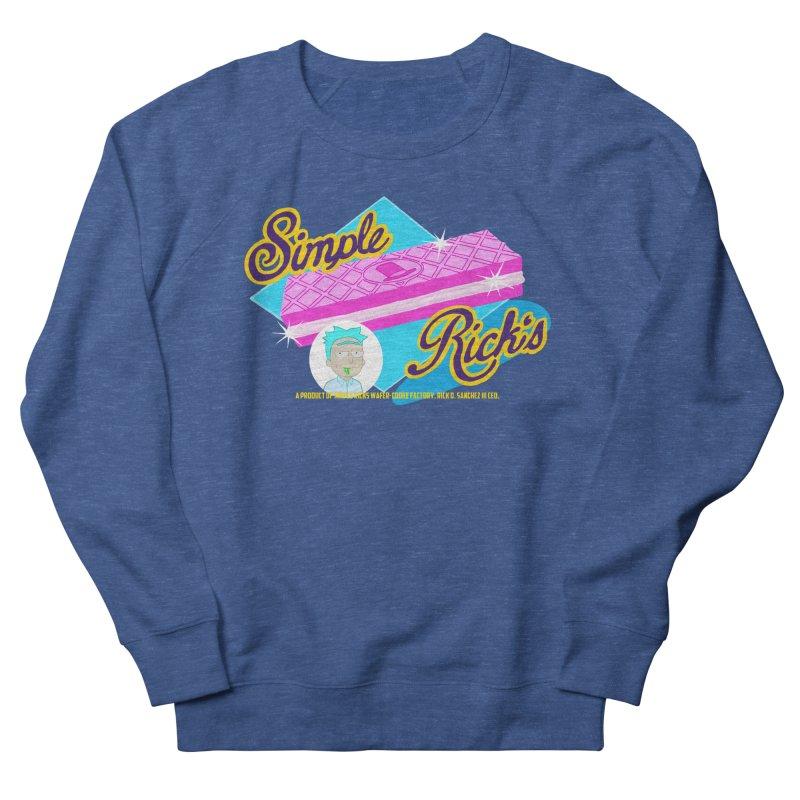 Simple Rick's Waffers Men's Sweatshirt by bobtheTEEartist's Artist Shop