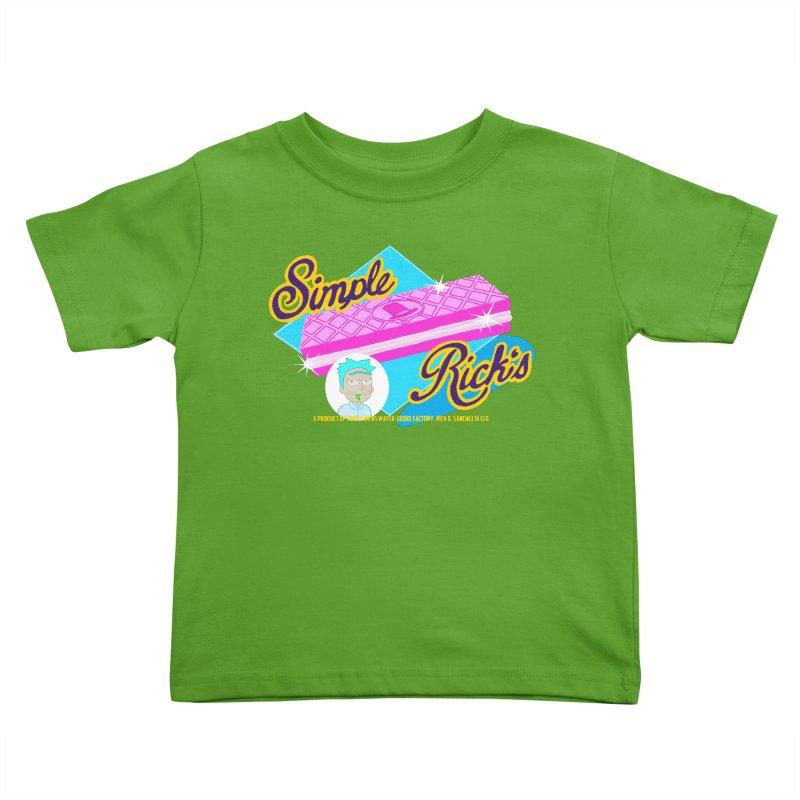 Simple Rick's Waffers Kids Toddler T-Shirt by bobtheTEEartist's Artist Shop