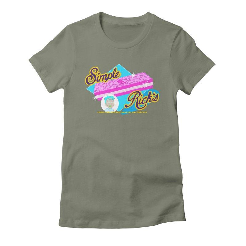 Simple Rick's Waffers Women's T-Shirt by bobtheTEEartist's Artist Shop