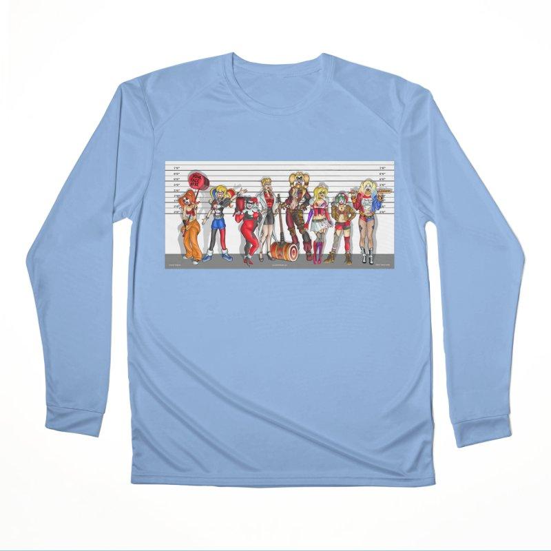 The Harley Quinn Lineup Men's Longsleeve T-Shirt by bobtheTEEartist's Artist Shop