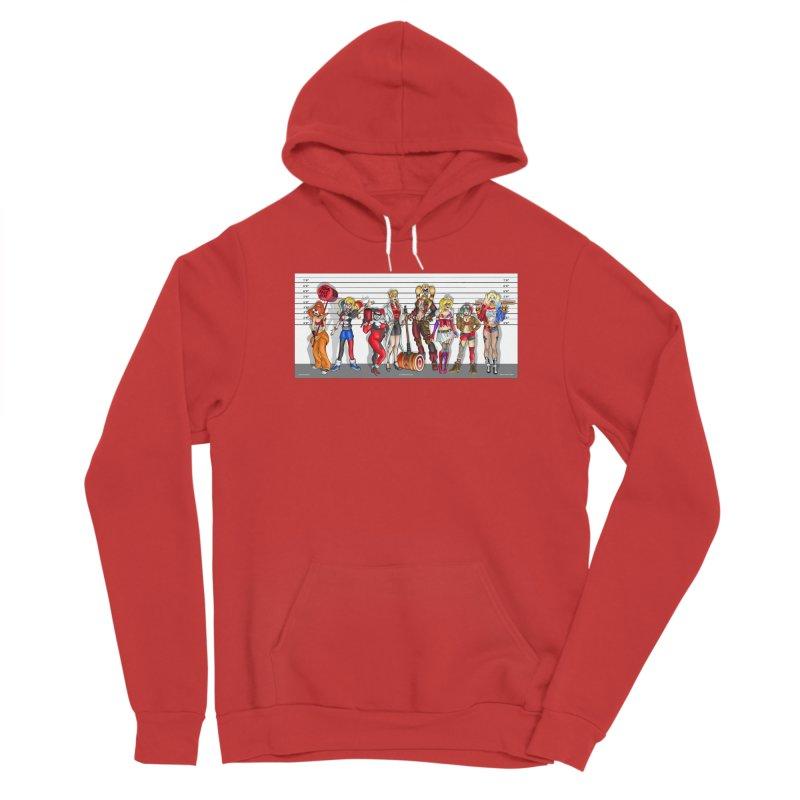 The Harley Quinn Lineup Men's Pullover Hoody by bobtheTEEartist's Artist Shop