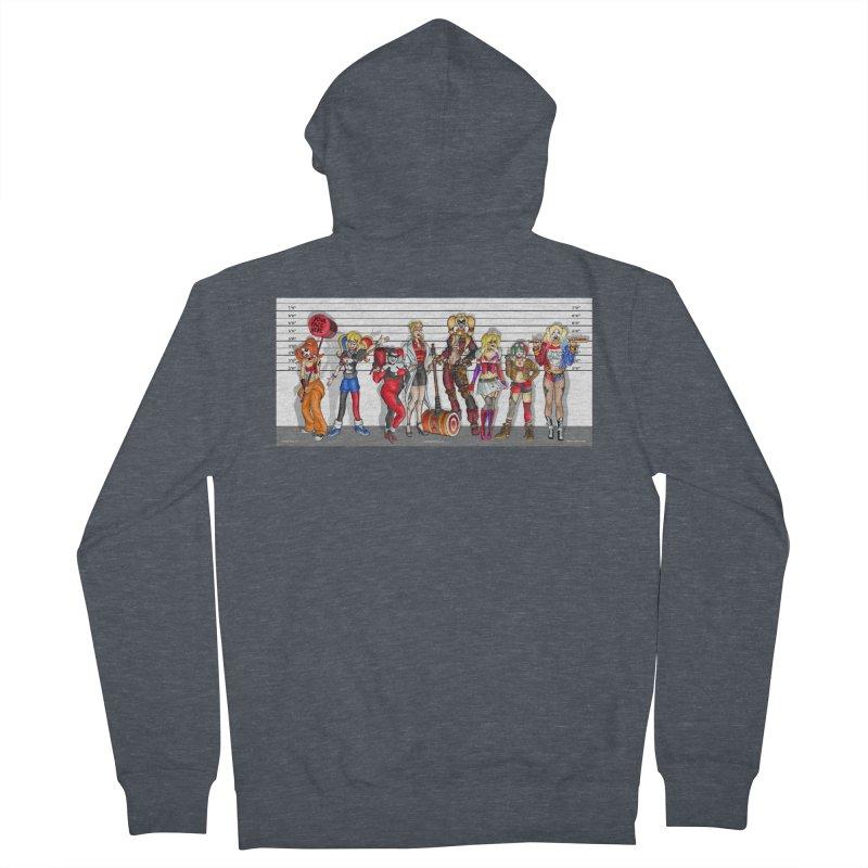 The Harley Quinn Lineup Women's Zip-Up Hoody by bobtheTEEartist's Artist Shop