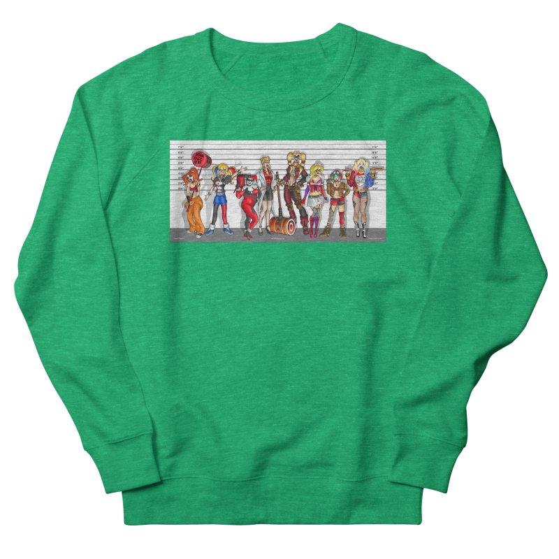 The Harley Quinn Lineup Women's Sweatshirt by bobtheTEEartist's Artist Shop