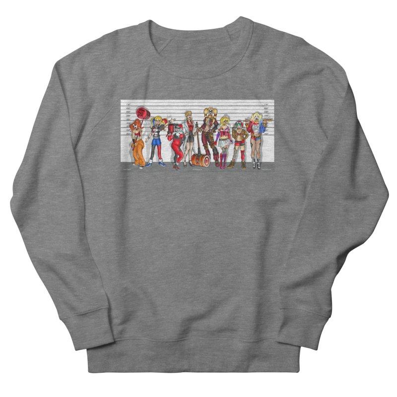 The Harley Quinn Lineup Men's Sweatshirt by bobtheTEEartist's Artist Shop