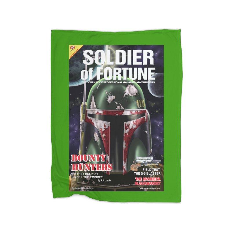 Bobba Fett: Soldier of Fortune Home Blanket by bobtheTEEartist's Artist Shop