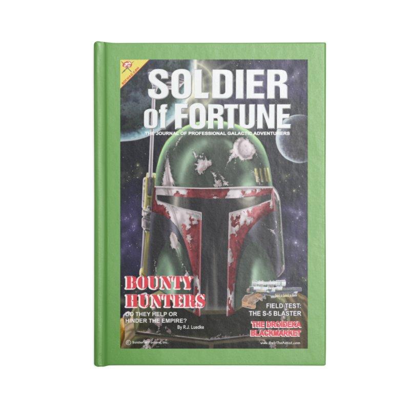 Bobba Fett: Soldier of Fortune Accessories Notebook by bobtheTEEartist's Artist Shop