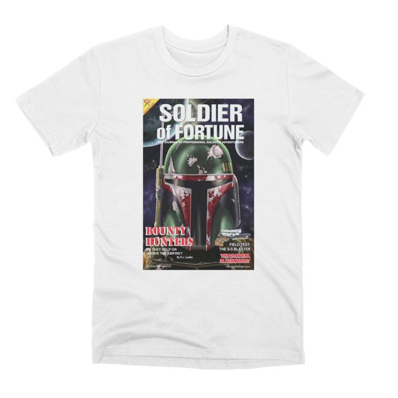 Bobba Fett: Soldier of Fortune Men's T-Shirt by bobtheTEEartist's Artist Shop