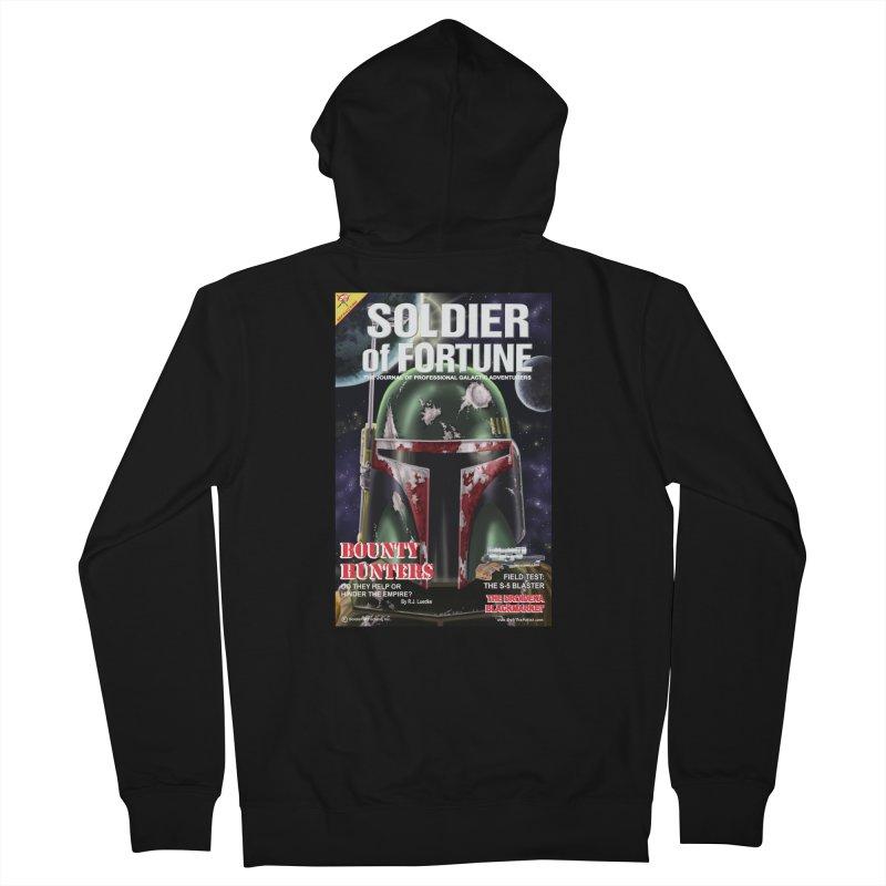 Bobba Fett: Soldier of Fortune Men's Zip-Up Hoody by bobtheTEEartist's Artist Shop