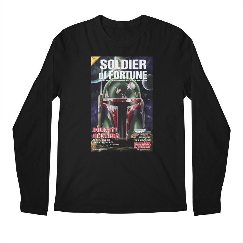 Bobba Fett: Soldier of Fortune Men's Longsleeve T-Shirt by bobtheTEEartist's Artist Shop