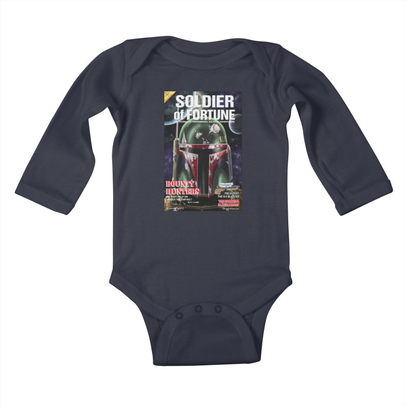 Bobba Fett: Soldier of Fortune Kids Baby Longsleeve Bodysuit by bobtheTEEartist's Artist Shop