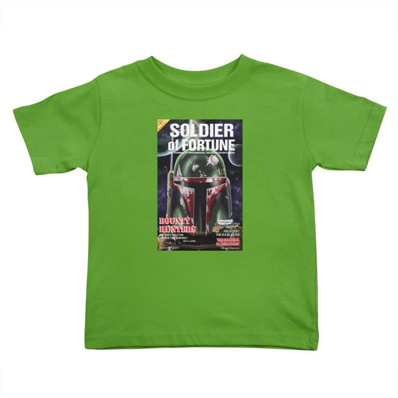 Bobba Fett: Soldier of Fortune Kids Toddler T-Shirt by bobtheTEEartist's Artist Shop