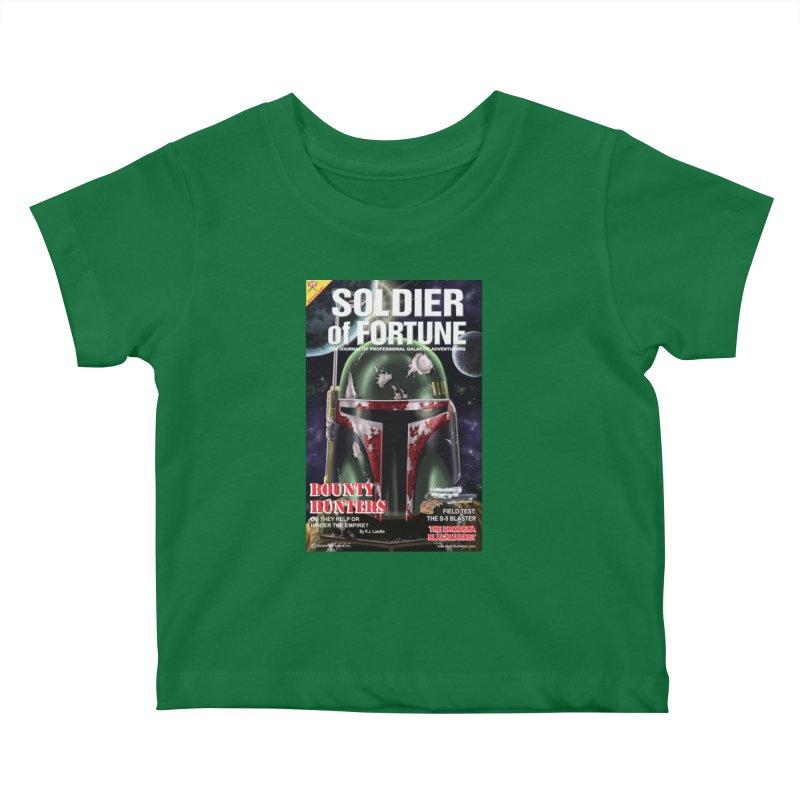 Bobba Fett: Soldier of Fortune Kids Baby T-Shirt by bobtheTEEartist's Artist Shop