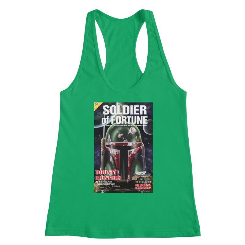 Bobba Fett: Soldier of Fortune Women's Tank by bobtheTEEartist's Artist Shop
