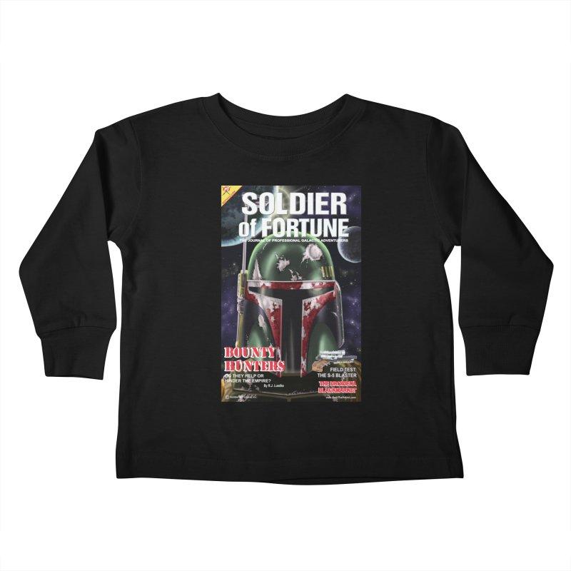 Bobba Fett: Soldier of Fortune Kids Toddler Longsleeve T-Shirt by bobtheTEEartist's Artist Shop
