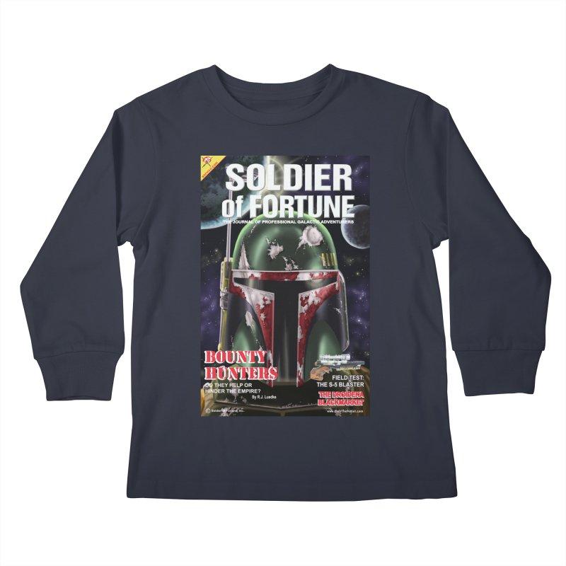 Bobba Fett: Soldier of Fortune Kids Longsleeve T-Shirt by bobtheTEEartist's Artist Shop