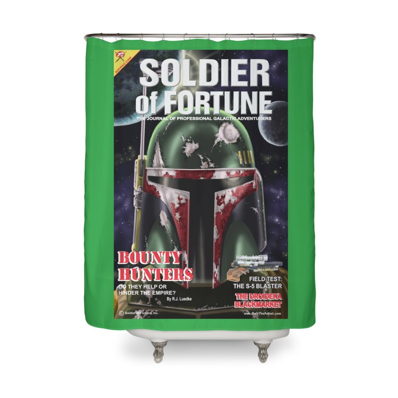 Bobba Fett: Soldier of Fortune Home Shower Curtain by bobtheTEEartist's Artist Shop