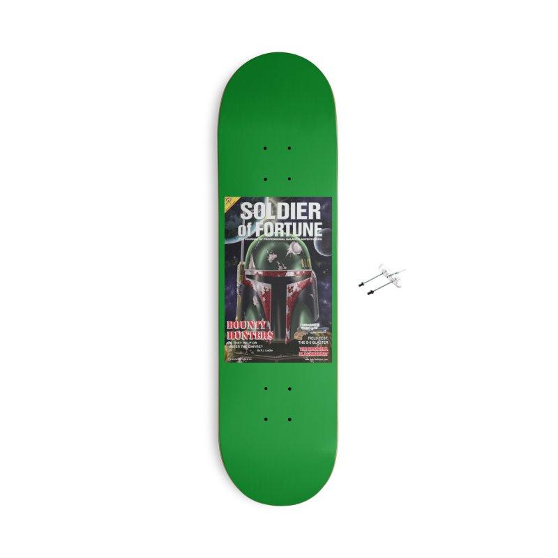 Bobba Fett: Soldier of Fortune Accessories Skateboard by bobtheTEEartist's Artist Shop