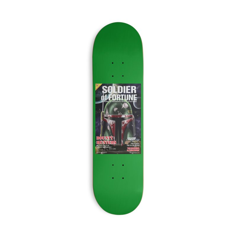 Bobba Fett: Soldier of Fortune Accessories Skateboard by bobtheTEEartist's Artist Shop