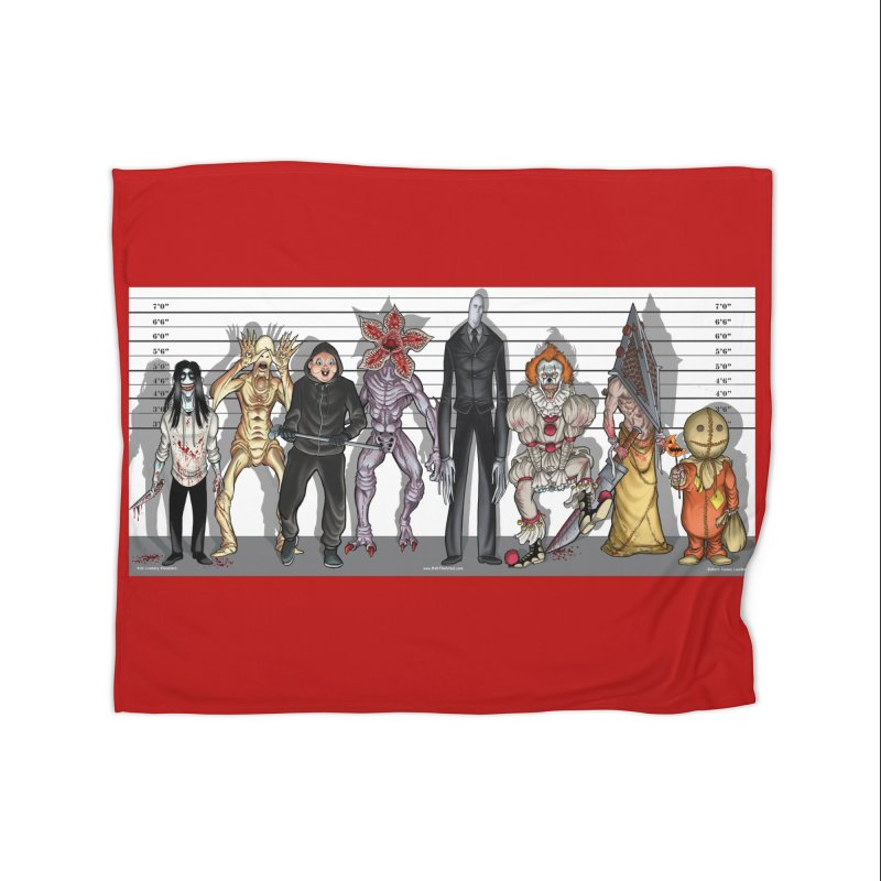 21st Century Monsters Home Blanket by bobtheTEEartist's Artist Shop