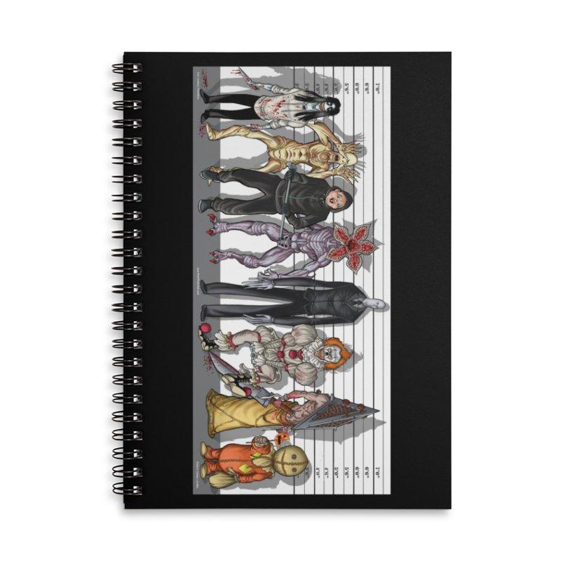 21st Century Monsters Accessories Notebook by bobtheTEEartist's Artist Shop