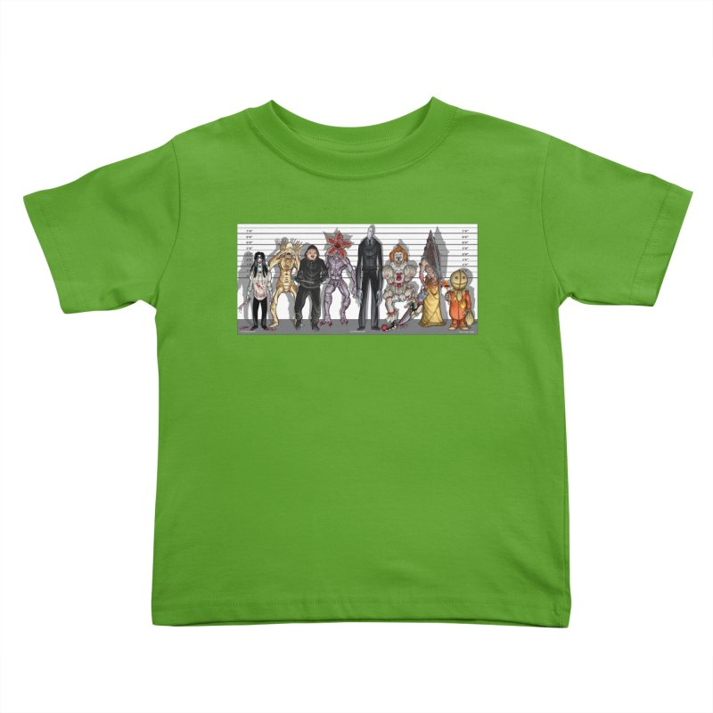 21st Century Monsters Kids Toddler T-Shirt by bobtheTEEartist's Artist Shop