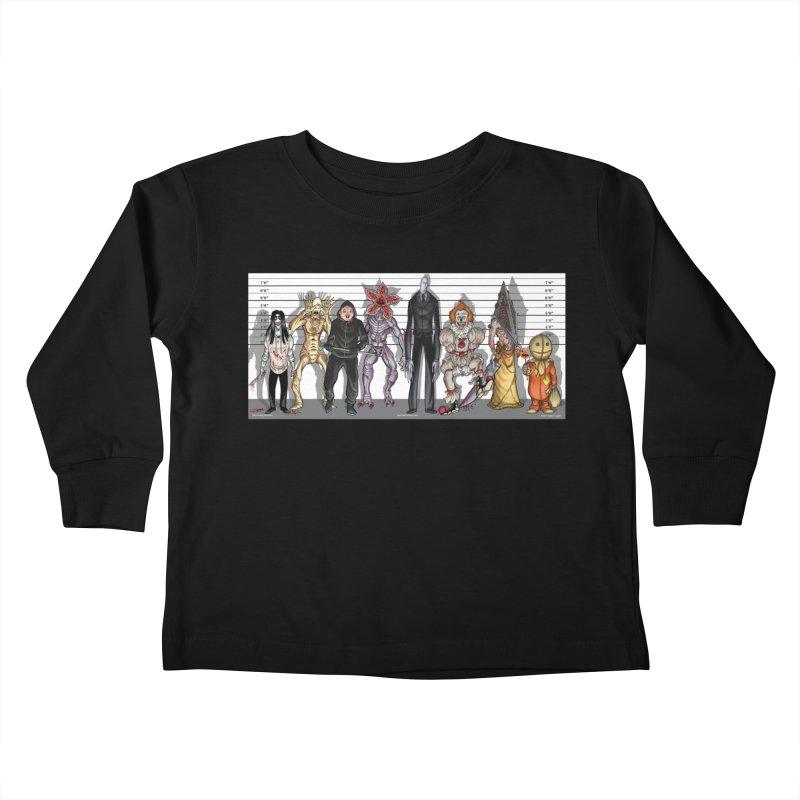 21st Century Monsters Kids Toddler Longsleeve T-Shirt by bobtheTEEartist's Artist Shop
