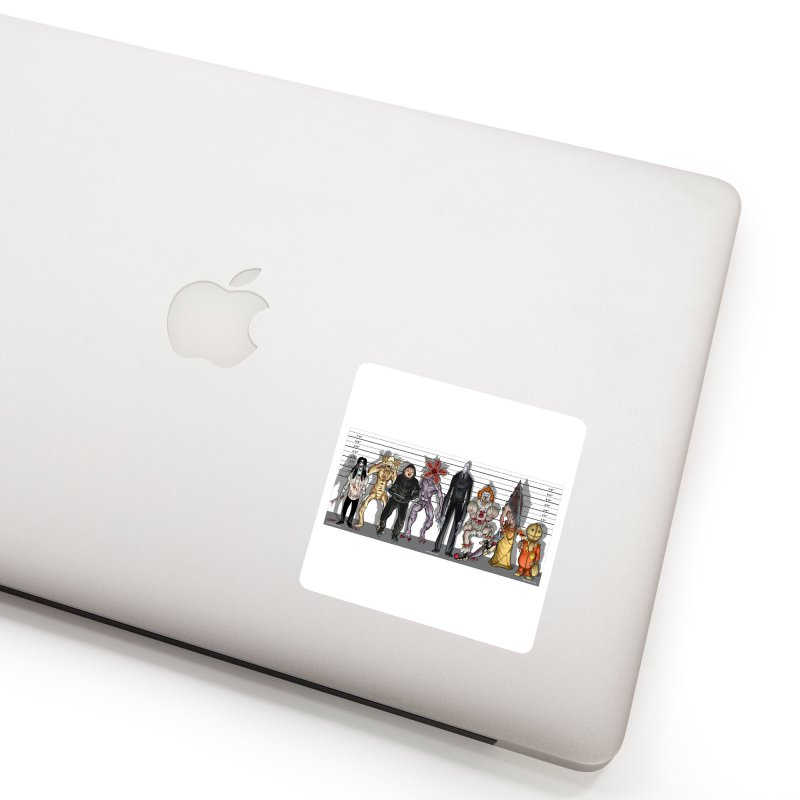 21st Century Monsters Accessories Sticker by bobtheTEEartist's Artist Shop