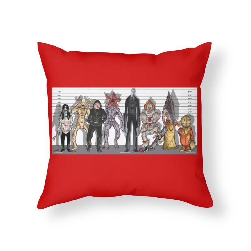 21st Century Monsters Home Throw Pillow by bobtheTEEartist's Artist Shop