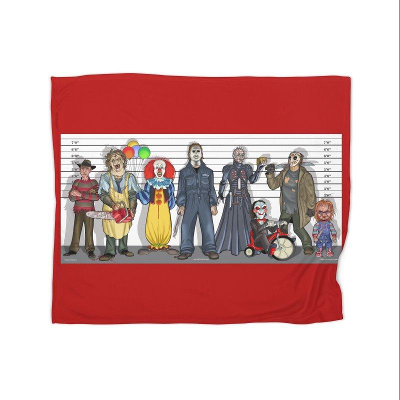 Modern Monsters Home Blanket by bobtheTEEartist's Artist Shop