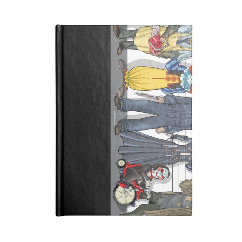 Modern Monsters Accessories Notebook by bobtheTEEartist's Artist Shop