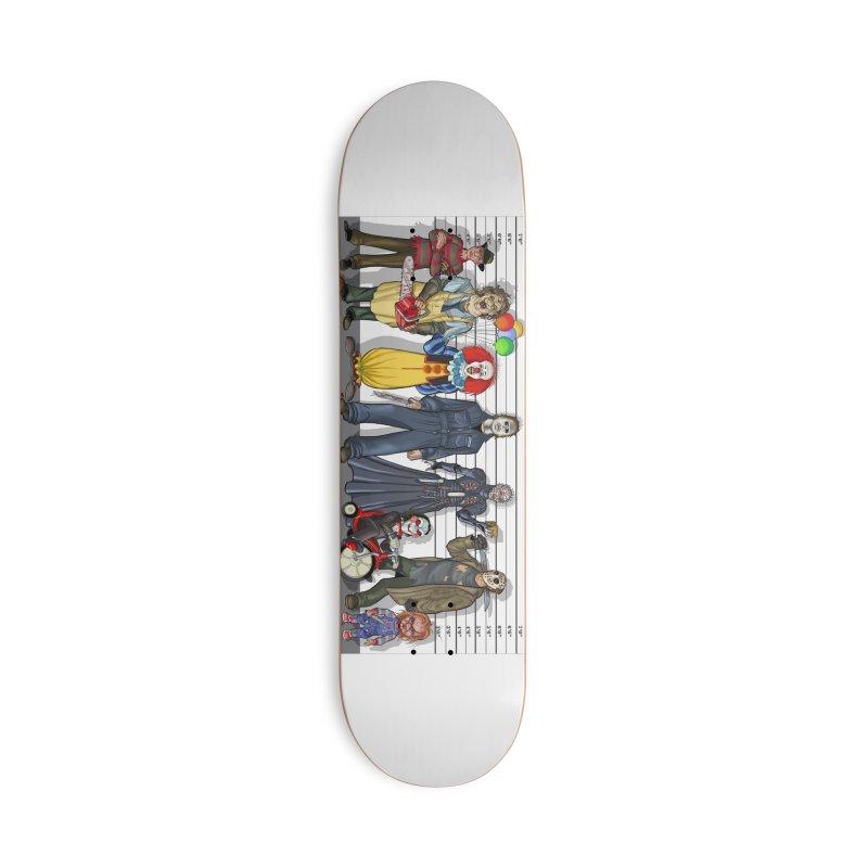Modern Monsters Accessories Skateboard by bobtheTEEartist's Artist Shop